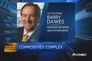 Commodities Complex Barry Dawes Speaking on CNBC