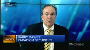 Barry Dawes on CNBC talking about Gold